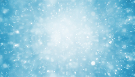 Abstract blue and bright glitter for background