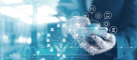 Mobile banking network, online payment, digital marketing.