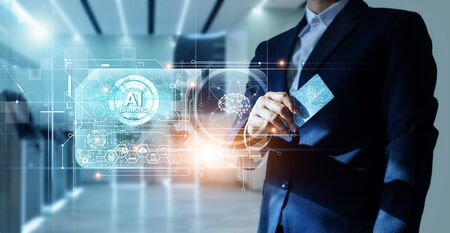 Artificial Intelligence (AI) & Banking, The Future of Banking and Smart Financial Technologies for business.