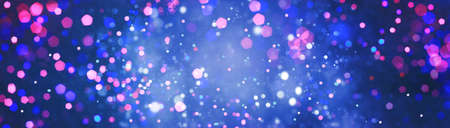 Abstract bokeh background and glitter colorful lights for background.
