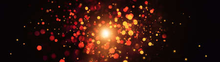Abstract bokeh background explosion and glitter colorful lights for background. 版權商用圖片 - 161884172