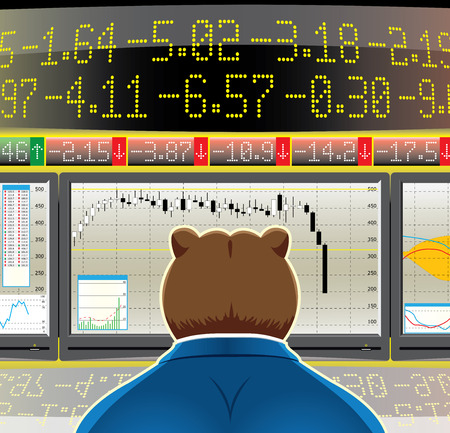 indicator board: bear market(CMYK)
