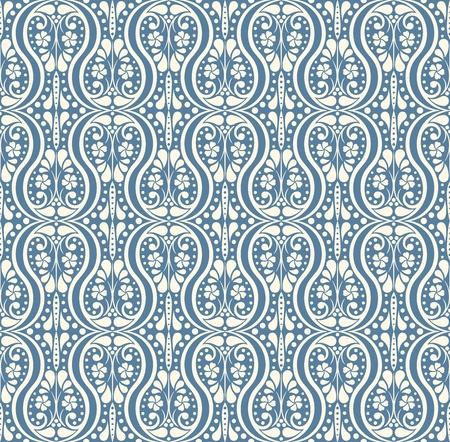 vector elegant seamless  wallpaper (CMYK)