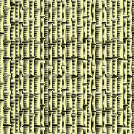 Bamboo seamless wallpaper (vector, CMYK) Stock Vector - 10960623