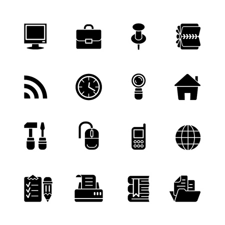 net book: computer icon set