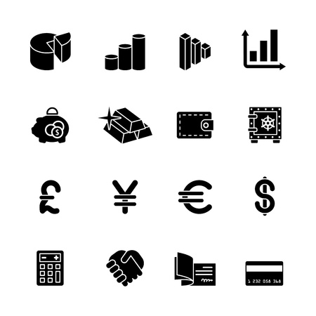 gold bars: computer icon set