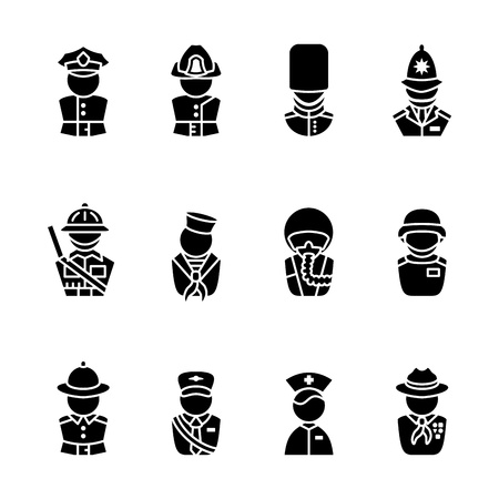 guardsman: computer icon set