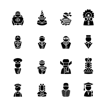 cap and gown: computer icon set