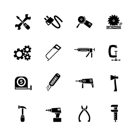 computer icon set Stock Vector - 16268655