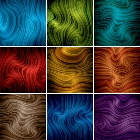 abstract background set  Illustration