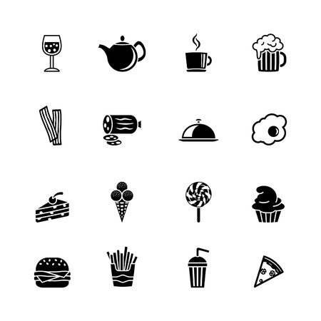 pizza pie: computer icon set