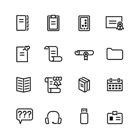 communication icon: computer icon set