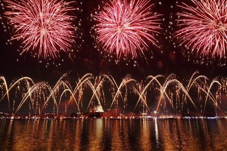 feast: Venice fireworks at Feast of the Redeemer