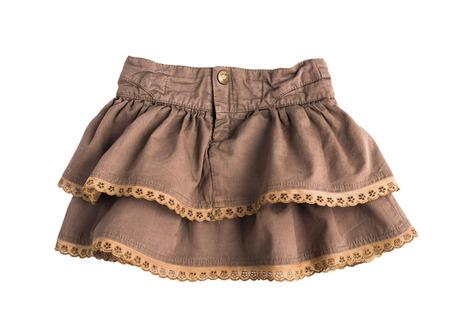 skirt isolated on white Imagens - 108721465