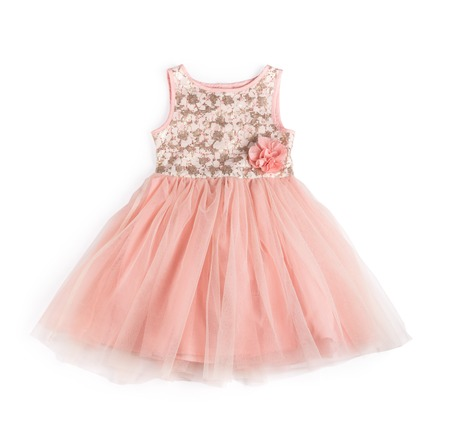 pink festive dress Foto de archivo