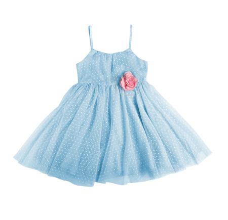 blue festive dress Imagens - 108721507