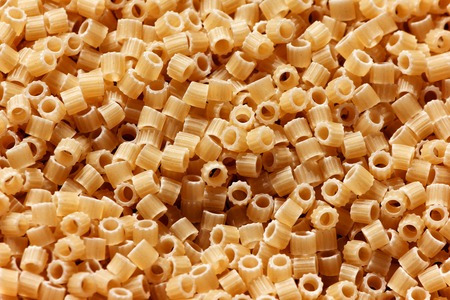 mixed wallpaper: Italian round pasta macro close up background