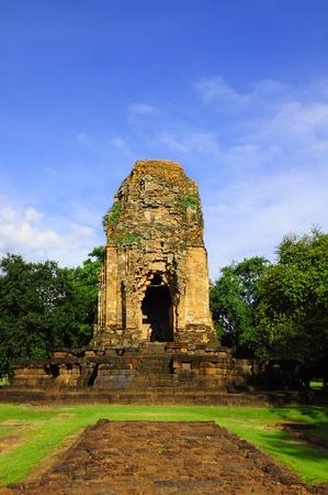 thep: The Prang Si Thep Monument in Phetchabun, Thailand