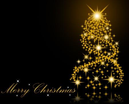 snow wreath: Merry Christmas background
