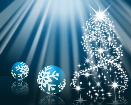 Frohe Weihnachten-Hintergrund Lizenzfreie Bilder