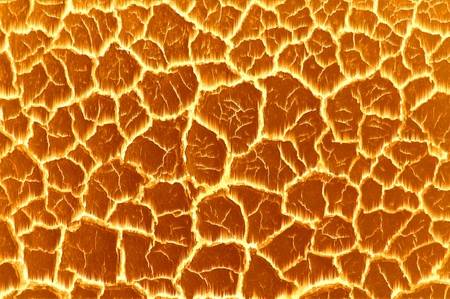 tectonics: scorched earth, soil and fire Stock Photo