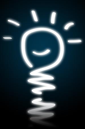 energysaving: lightbulb