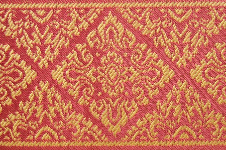 Thai fabrics patterns photo