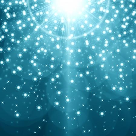 Blue christmas background photo
