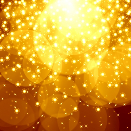 Golden christmas background Stock Photo - 15307866