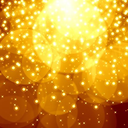 Golden christmas background Stock Photo - 15307866