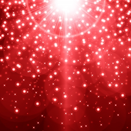 Red christmas background photo