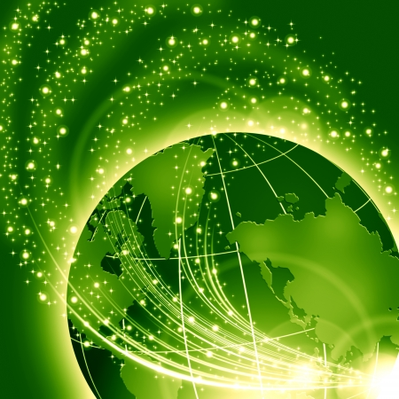 Green business concept Stock Photo - 15307915