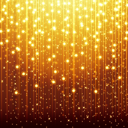 golden christmas background Stock Photo - 15321297