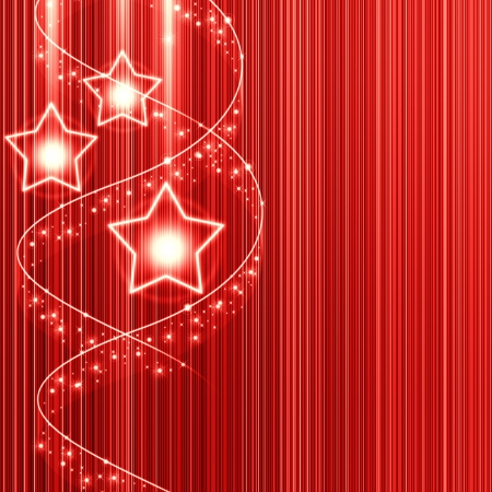 red christmas background with star photo