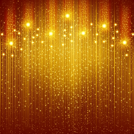 Golden christmas background photo