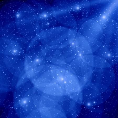 Blue christmas background Stock Photo - 16526704