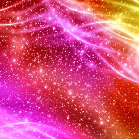 fractal pink: Colorful abstract background