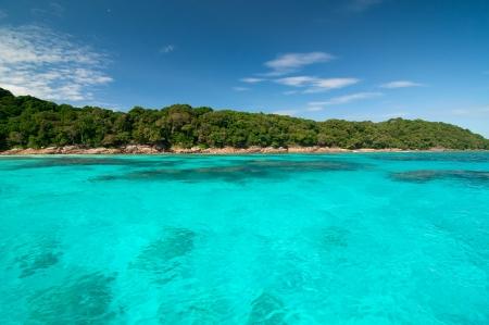 Tachai Island, Thailand photo