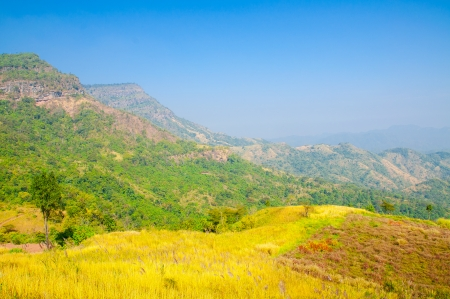 favour: Beautiful Mountain view at Khao Kho, Petchaboon, Northern of Thailand