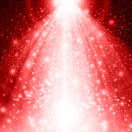 shine background: Red Christmas background Stock Photo