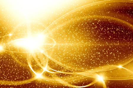 Golden Christmas Hintergrund