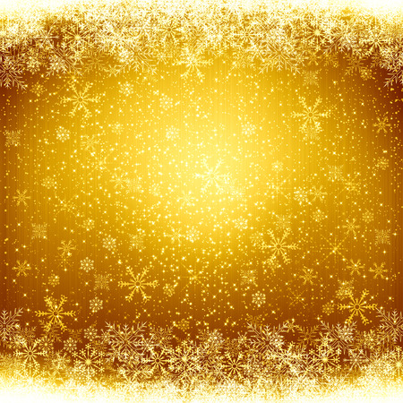brown background: Golden christmas background
