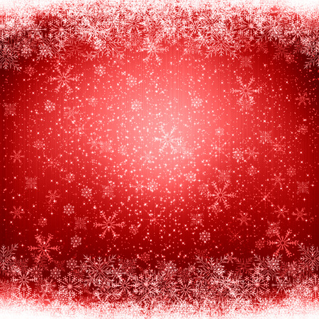 holiday greeting: Red Christmas background Stock Photo