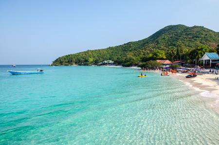 Tien beach, Larn island, Pattaya, Chonburi, Thailand Standard-Bild