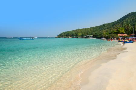 chonburi: Tien beach, Larn island, Pattaya, Chonburi, Thailand Stock Photo