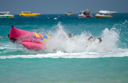 Aktivität auf Koh Larn Insel, Tawaen Strand, Pattaya, Chonburi, Thailand