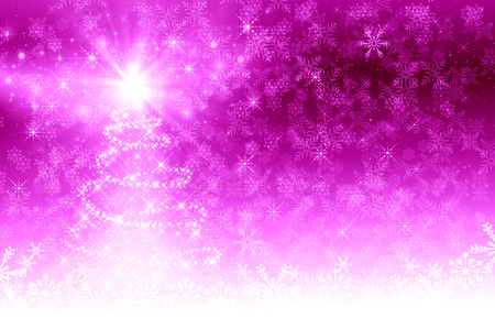 pink christmas: Pink Christmas Tree background