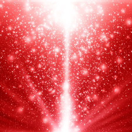 red christmas background: Red Christmas background Stock Photo