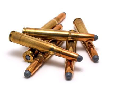 projectile: Several hunting cartridges