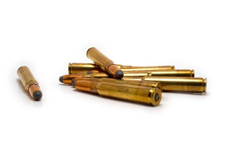 Multiple scattered hunting cartridges Stock Photo - 4849263